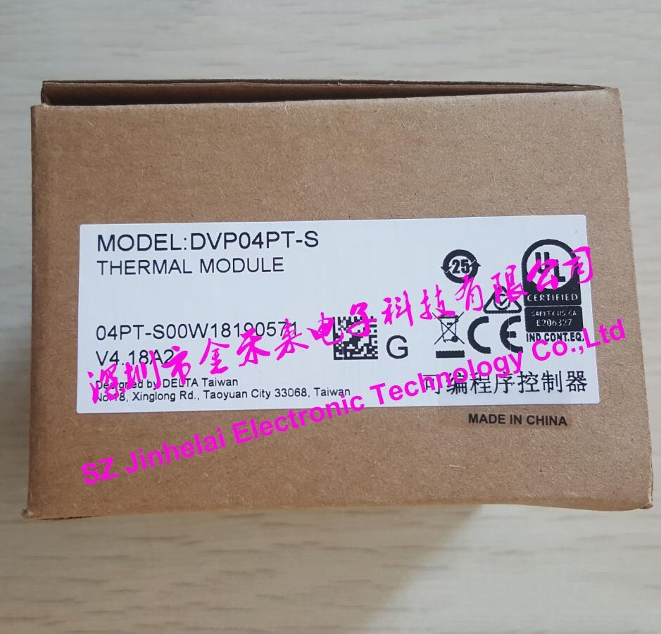 100% New and original DVP04PT-S DELTA THERMAL MODULE new original dvp04pt s delta plc 4 pt100 module