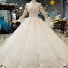 CHANVENUEL floor length wedding dresses long sleeves gown