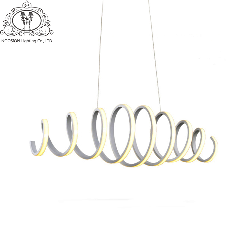 TZ Modern Led Pendant Light for Kitchen Dining Room White Pendant Lamp for Coffee & Bedroom Suspension Hanging Pendant Lamp factory cheap amber smoky gray red coffee blue glass pendant lamp pendant light edison bulb bedroom dining room cafe kitchen bar
