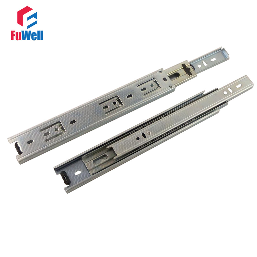 runner sliding bearing improvement slides item home cold furniture in width telescopic fold steel ball from drawer drawers inch rolled cabinet