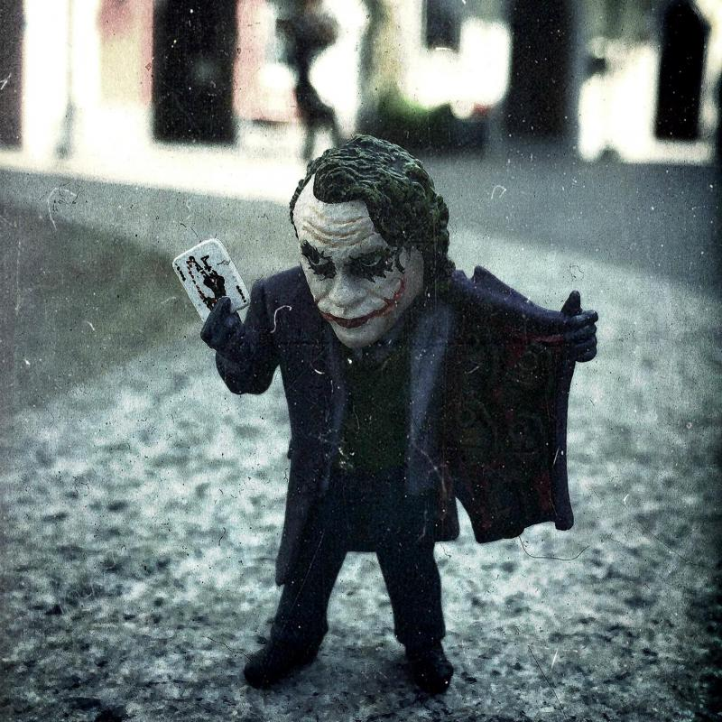 6cm Mini The Joker PVC Action Figure Collection Model Toy The Dark Knight 1 Piece