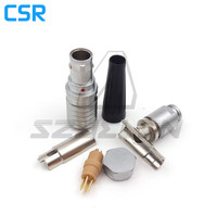 SZJELEN 0B Connector 90 Degree Elbow 4pin Plug FHG 0B 304 CLAD Camera Cable Power Connector