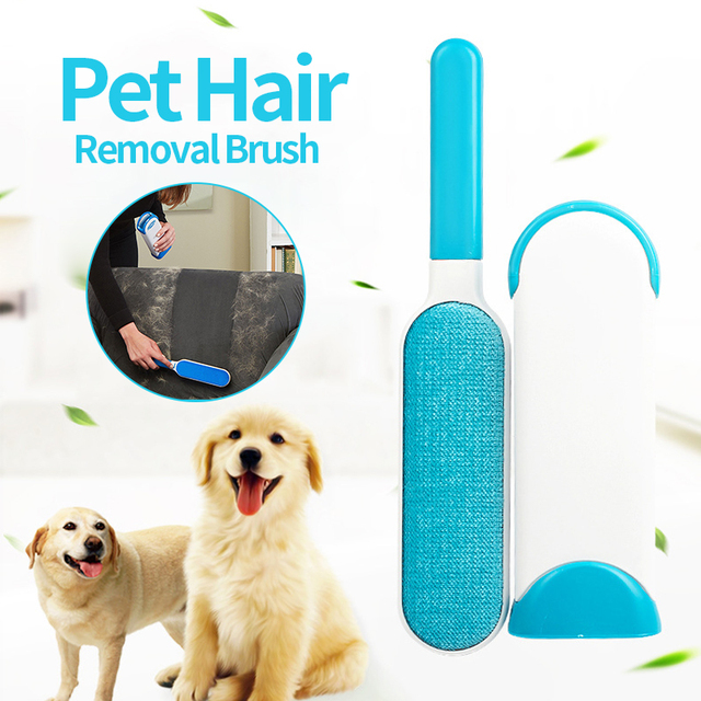 Hoopet Pet Hair Removal Brush Pet Combs Originality Cat Dog Combs Sofa Bed Sheet Portable Travel Household Cleaning Brush