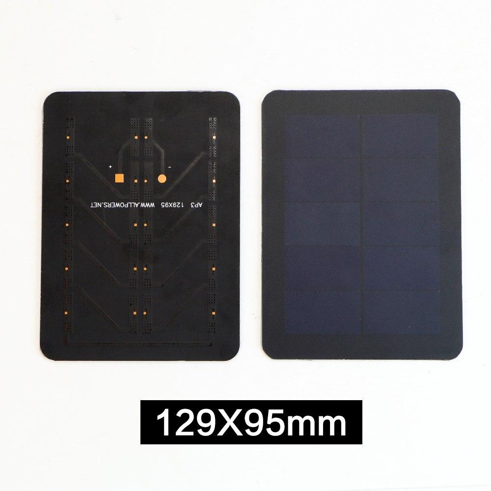X-DRAGON Portable Solar Cell 5V 1.5W 129*95mm Sunpower Solar Panel for DIY Solar Charger.