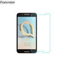 Premium Tempered Glass For Alcatel A3 XL A7 A5 LED U5 HD X1 A50 A512 Idol 5S U3 Screen Protector Protective Film 9H 2.5D(China)