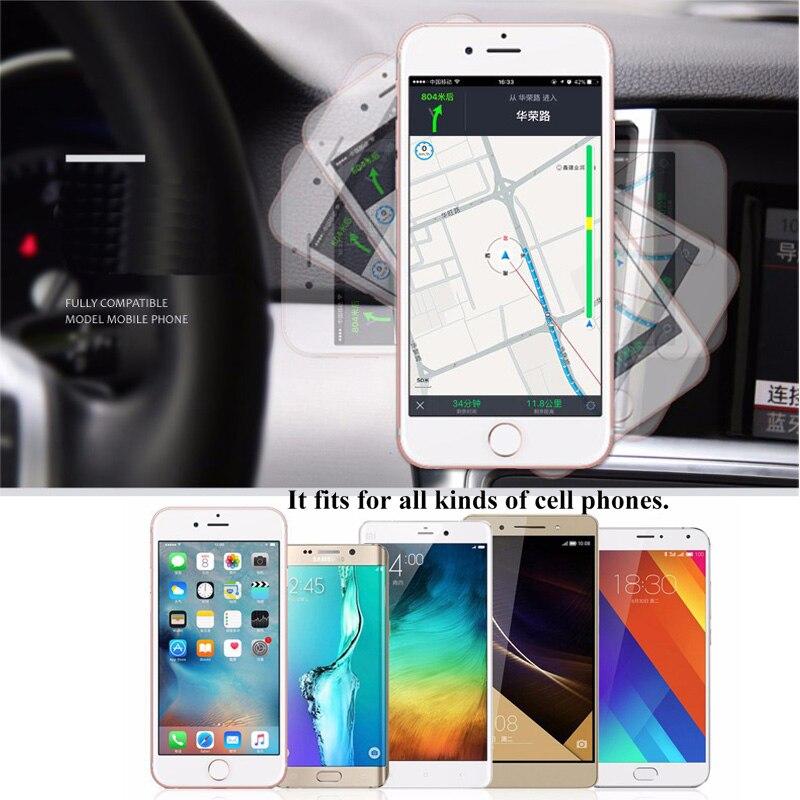 ESVNE ունիվերսալ մագնիսական հեռախոսի - Բջջային հեռախոսի պարագաներ և պահեստամասեր - Լուսանկար 5