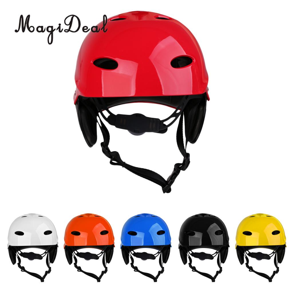MagiDeal Portable Universal Adult Kids Water Sports Safety Helmet L for Kayak Canoe Sailing Rescue Surf Board Hard Cap 6 Colors