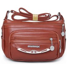 New 2017 Women Bag Pu Leather Women Messenger Bags Small Designer Crossbody Designer Handbags Shoulder Bag Ladies Bolsa S-40