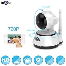Главная безопасности ip Камера Беспроводной Смарт Wi-Fi Камера Wi-Fi аудио запись видеонаблюдения радионяня HD Mini CCTV Камера hiseeu FH2A