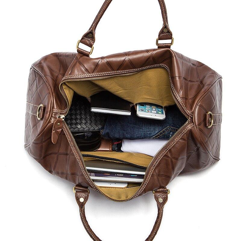 WESTAL Large Duffle Bag Ерекше Былғары Багаждар - Багаж және саяхат сөмкелері - фото 6
