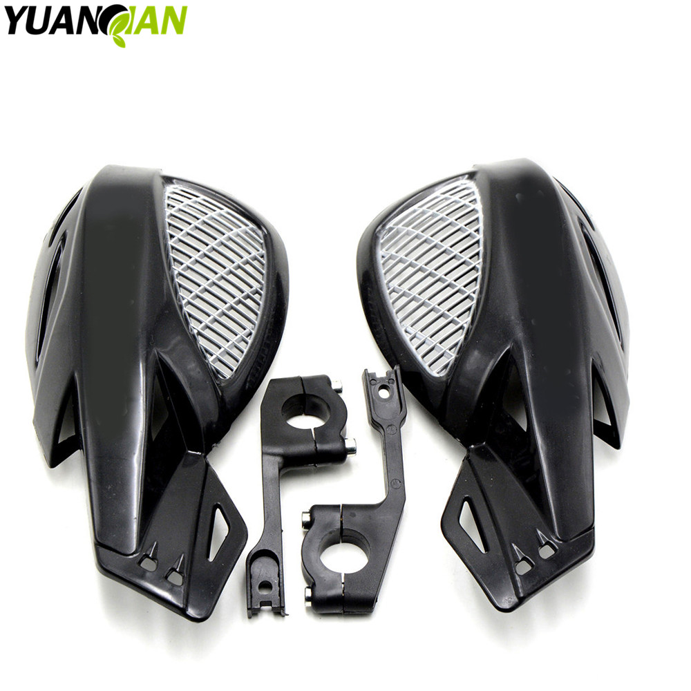 цены Motorcycle Brush Bar Hand Guards7/8'' Handguard ATV Accessories black for KTM KX85 EXC450 for KAWASAKI KX CRF RMZ KXF yamaha yz