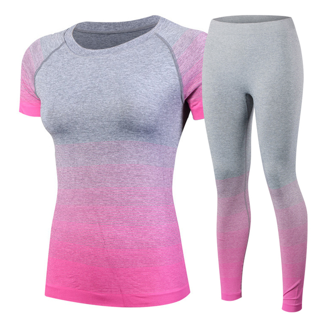 Fitness Women Yoga Set – Sport Suit