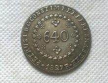1823 Brazil 640 Reis COIN COPY FREE SHIPPING(China)