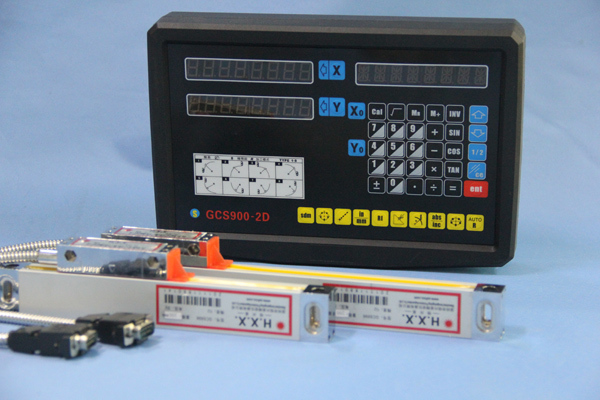 Complete set 2 Axis digital readout DRO and 2 pcs digital linear scales for NO3 milling