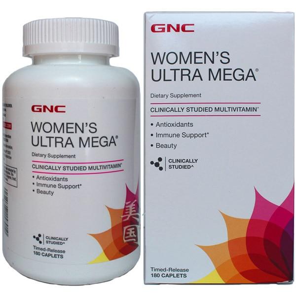 Women's Ultra Mega Antioxidants Immune Support Beauty 180 pcs цена и фото