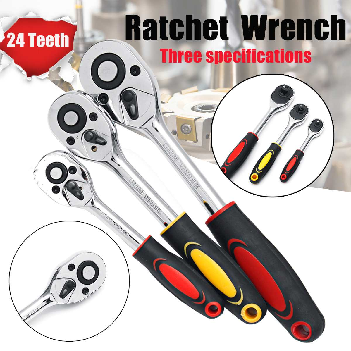 Hand Wrench 1/4