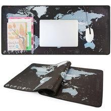 Игровой коврик для мыши volander новый большой с картой мира