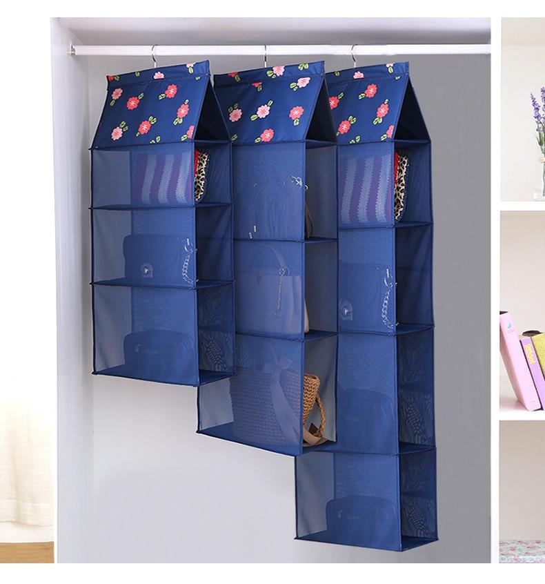 šest stylů Skříň Organizadores případ trvanlivé dveřní kapsy módní kabelky dokončení závěsné tašky organizér zavěsit úložný pytel