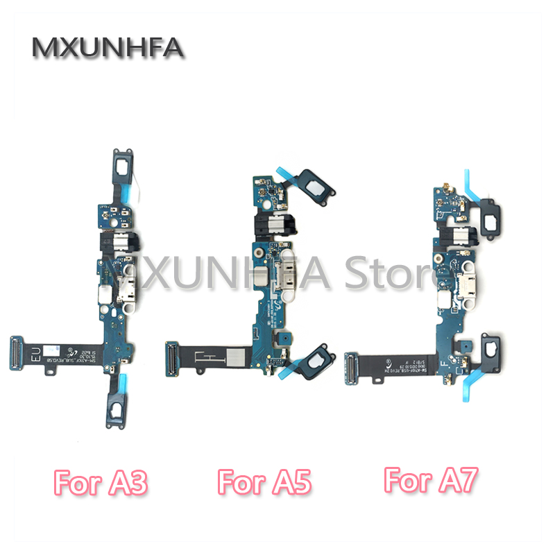 Charging Charger USB Dock Connector Flex Cable For Samsung Galaxy A3 A5 A7 2015 2016 A300F A500F A700F A310F A510F A710F A720f(China)
