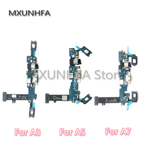 Image 1 - Charging Charger USB Dock Connector Flex Cable For Samsung Galaxy A3 A5 A7 A8 A9 2016 A300F A500F A700F A310F A510F A710F A720f