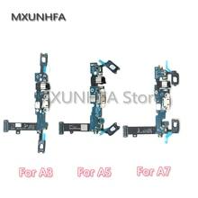 טעינת מטען USB Dock Connector Flex כבל לסמסונג גלקסי A3 A5 A7 A8 A9 2016 A300F A500F A700F A310F a510F A710F A720f