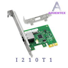 ARUENTEX I210 T1 Gigabit Ethernet/Network Card(NIC), Single PORT RJ45 PCI Express 2.1 x1 Controller:Intel i210