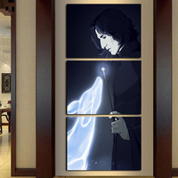 Modern Home Wall Decor Frame Canvas Picture Art 3 Panel Harry Potter Fan Art Snape HD