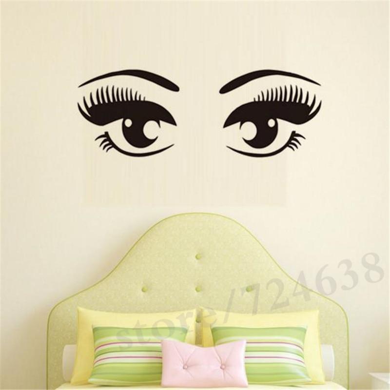 Fine Eyelash Wall Decor Embellishment - Wall Art Collections ...