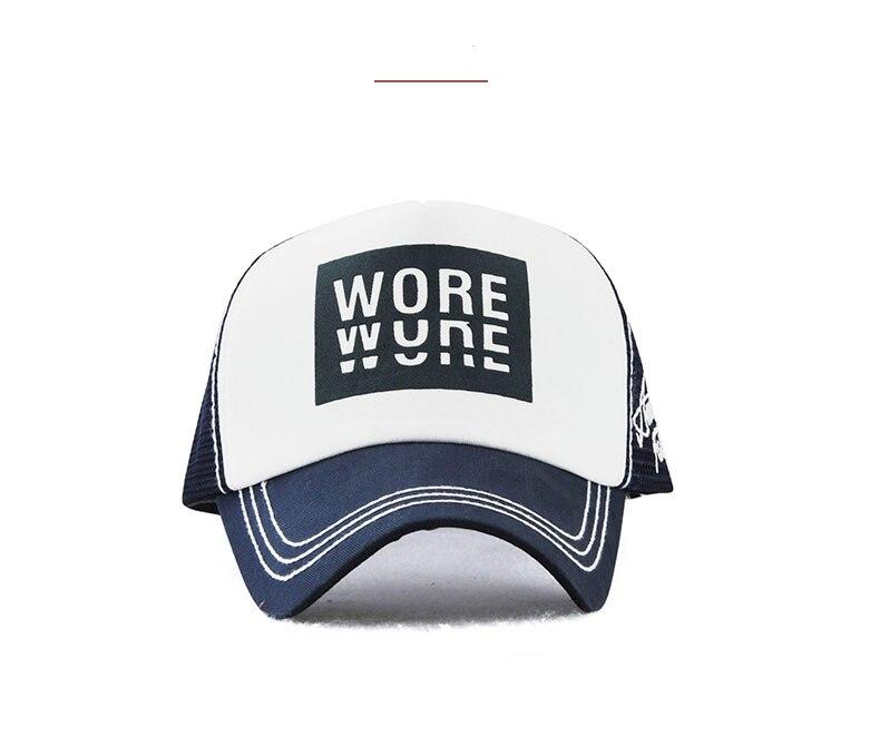 Xthree New Men's Baseball Cap Print Summer Mesh Cap Hats For Men Women Snapback Gorras Hombre hats Casual Hip Hop Caps Dad Hat