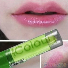 2015 Popular Women Sexy  Waterproof Fruity Smell Lipstick Lip Cream Changeable Color Make Up 7GQ6 8TLM