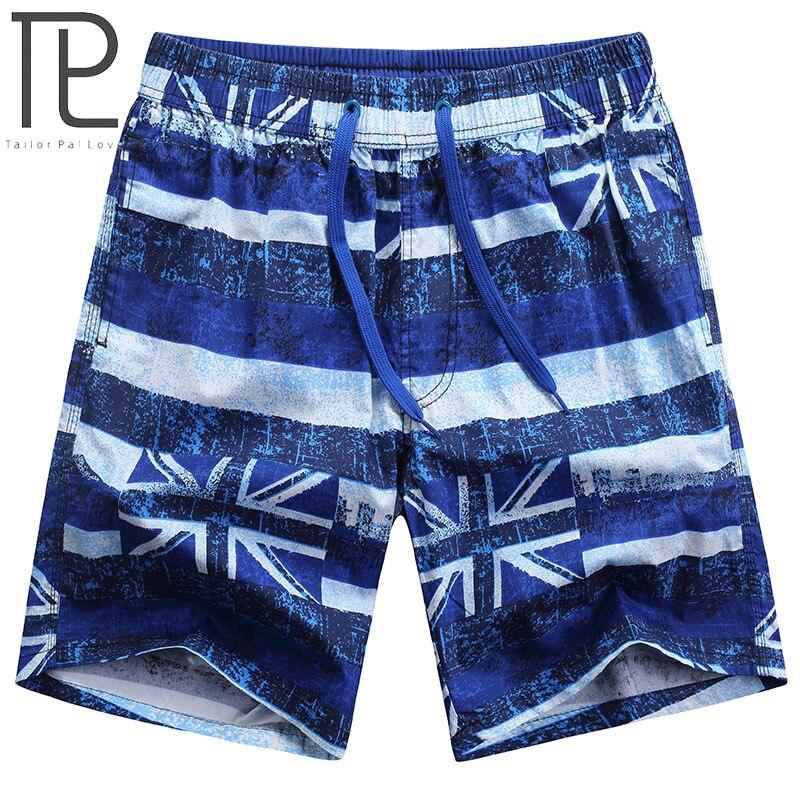 ailor Pal Love 2018 Summer British flag printed men beach   shorts   Quick Dry   Board     Shorts   AXP33