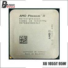 Amd の天才 II X6 1055 5810t 1055 5536g 2.8 95 ワット 6 コア Cpu プロセッサ HDT55TWFK6DGR ソケット AM3