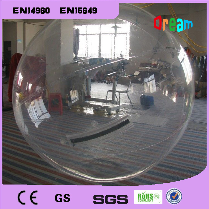Free Shipping 0.8mm Thickness 2m Water Walking Ball Zorbing Water Ball Zorb Ball Inflatable Human Hamster Ball