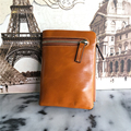 Oil Wax Leather Wallet Female Wallets with Zipper Coin Bag Genuine Leather Women Wallets Small Short Purses for Ladies