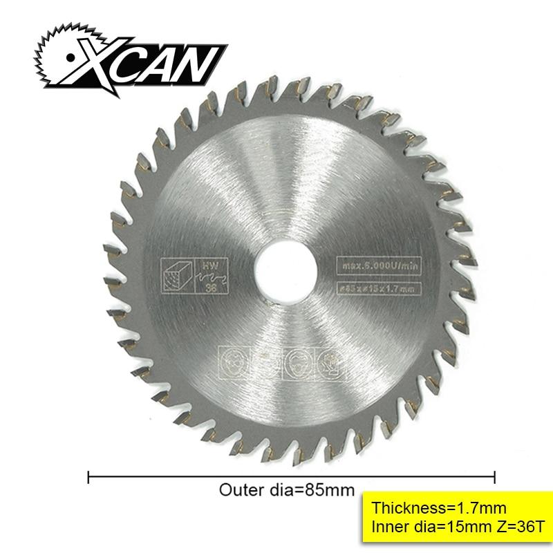 1 Uds diámetro exterior 85 mm alta calidad Mini sierra circular hoja de corte de maderamini circular saw bladescircular bladecircular saw blade -