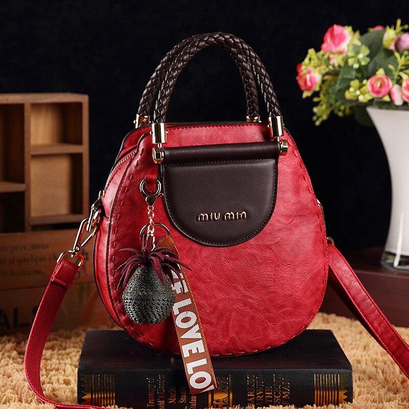 Image 5 - New women messenger bag female small tote top handle bag shoulder  crossbody bags ladies designer handbag famous brands  BandoleraTop-Handle Bags
