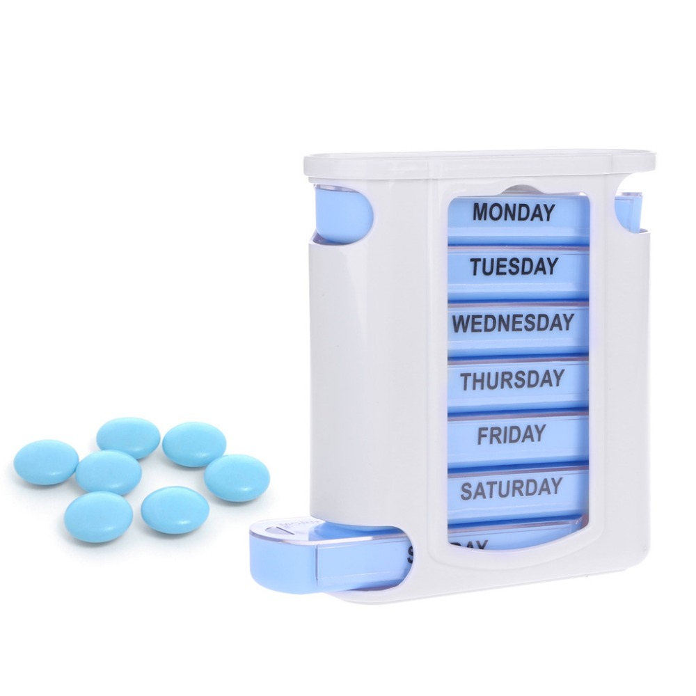 100% Quality Useful 28-slot Travel Pill Box Storage Weekly 7-day Medicine Container Holder Medical Storage Box Kit Living Supplies Hot Storage Boxes & Bins