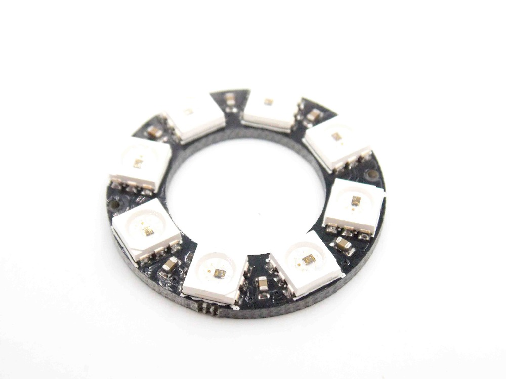cjmcu 8 ws2812 5050 rgb led built in drive lights round development board color