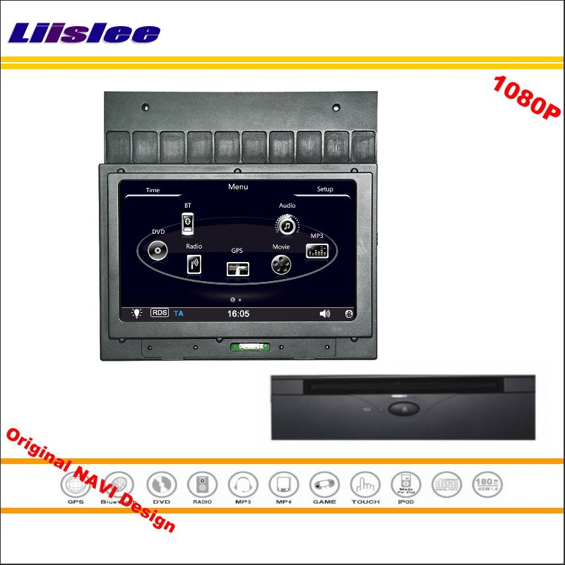 Lisslee For Land Rover Discovery / Freelander 2005~2014 Car Radio CD DVD Player GPS Nav 1080P Screen System Original NAVI Design our discovery island 4 dvd