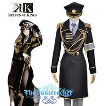Anime K  Return Of Kings Yatogami Kuroh Military Uniform Outfit Cosplay Costume Custom Made custom made anime phoenix wright ryuichi naruhodo dress fashion uniform cosply costume shirt coat pants