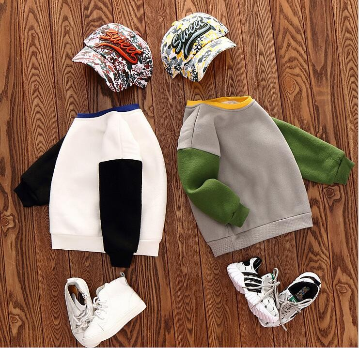 Wholesale-Boys-Patchwork-Sweatshirt-Cotton-Full-Sleeve-Tops-For-Girls-Spring-Autumn-Solid-Colors-F943 (2)