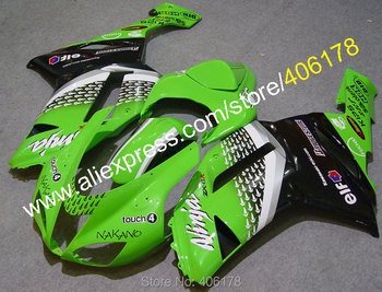 Popular Cowling For ZX-6R 07 08 Ninja zx636 ZX 6R 636 ZX6R 2007 2008 Nakano Body Fairings (Injection molding)
