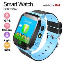 Q528 Gps Smart Horloge Met Camera Zaklamp Baby Horloge Sos Oproep Locatie Apparaat Tracker Voor Kid Veilig Pk Q100 Q90 q60 Q5