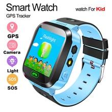 Q528 gps relógio inteligente com câmera lanterna relógio de bebê chamada sos dispositivo localização rastreador para o miúdo seguro pk q100 q90 q60 q5