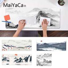 MaiYaCa мальчик подарок Pad китайский пейзаж живопись геймерская игра коврики износостойкий коврик для мыши резиновый коврик для мыши Pad