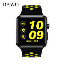 DAWO DM09PLUS Bluetooth Smart Watch Hollow Strap MTK2502C Smartwatch Support SIM Card VS IWO For IOS Android Smart Phone