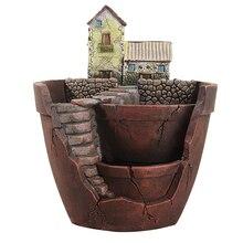 Sky Garden Herb Flower Basket Planter Succulent Pot Trough Box Case Plant Bed