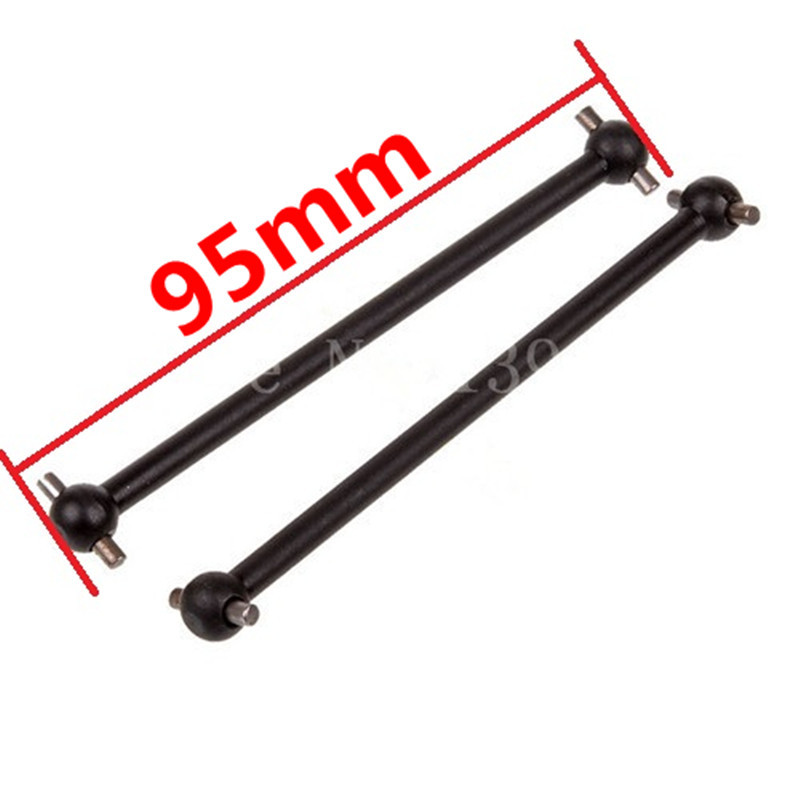 81004 Rear Drive Dogbones HSP Parts 95mm 1/8 For HSP Himoto RC Car Truck Buggy BAZOOKA Tornado RAPIDO Rattlesnake Copperhead  81021 drive gear joint cups rc hsp 1 8 parts rc car monster truck buggy bazooka tornado rapido rattlesnake copperhead searover