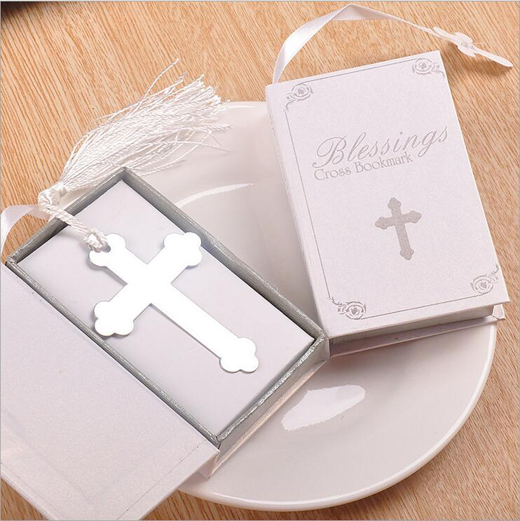 20PCS Boxed Blessings Silver Bible Cross Bookmark Party Favor Bridal Baby Shower Souvenirs Wedding Favors and Gifts For Guest|favors and gifts|gifts for guestsparty favors - AliExpress