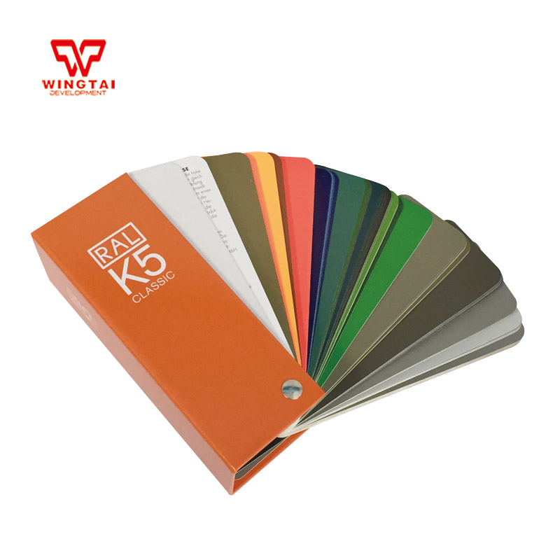2017 New Version German RAL K5 Paint Color Card RAL Classic Colors